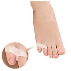 מפריד אצבעות קטנות בכף הרגל עם 2 טבעות יחידה