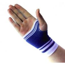 גרב לחץ  אלסטית לשורש כף יד כחול לבן